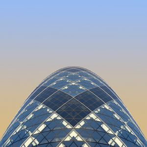 Preview wallpaper building, architecture, glass, sky, minimalism