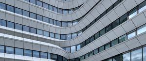 Preview wallpaper building, architecture, distortion, facade