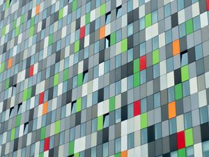 Preview wallpaper building, architecture, facade, colorful