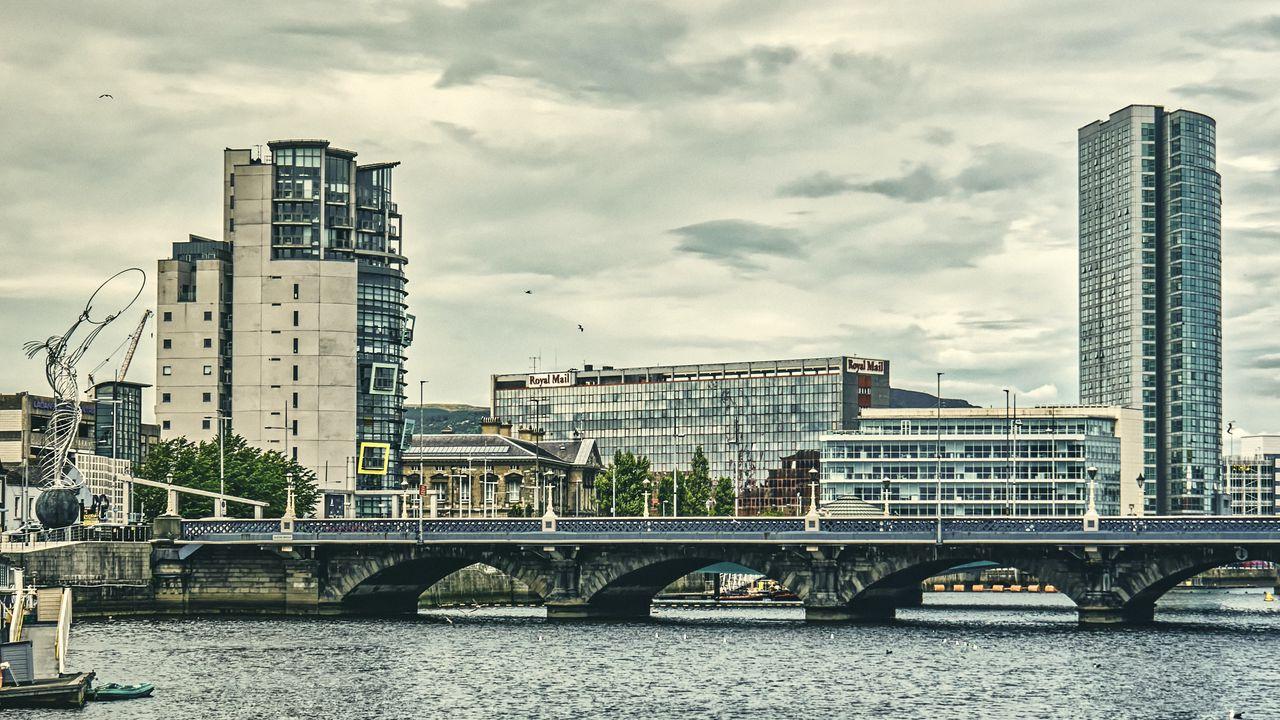 【壁纸桌面】建筑、城市、桥梁、河流、建筑高清壁纸免费下载