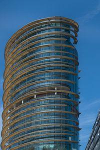 Preview wallpaper building, skyscraper, glass, architecture