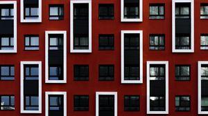 Preview wallpaper building, windows, architecture, facade