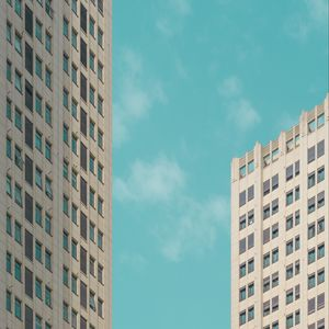 Preview wallpaper buildings, architecture, sky, minimalism
