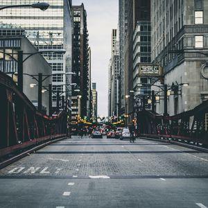 Preview wallpaper buildings, bridges, roads, cars