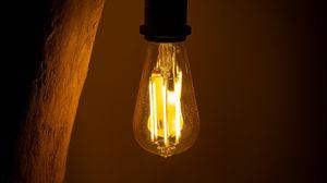 Preview wallpaper bulb, lighting, lamp, dark, electricity