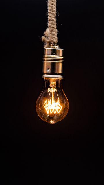 360x640 Wallpaper bulb, lighting, rope, electricity, edisons lamp