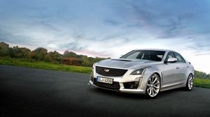 Preview wallpaper cadillac, cts, side view