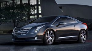 Preview wallpaper cadillac, elr, coupe, car, side view
