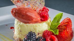 Preview wallpaper cake, berries, dessert, bright