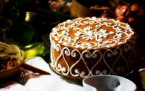 Preview wallpaper cake, pastry, cream, dessert