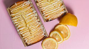 Preview wallpaper cake, watering, lemon, dessert, pastries