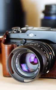 Preview wallpaper camera, lens, objective