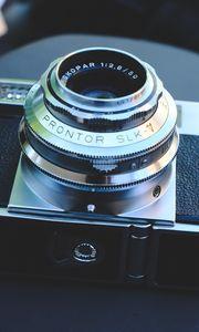 Preview wallpaper camera, objective, retro