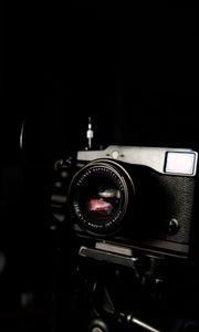 Preview wallpaper camera, photo, dark, black