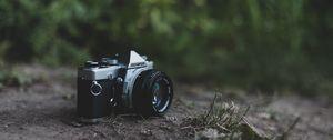 Preview wallpaper camera, vintage, retro, lens, blur