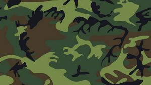 Preview wallpaper camouflage, military, patterns, texture, green