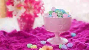 Preview wallpaper candy, bowl, bright