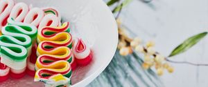 Preview wallpaper candy, sweets, christmas, new year, colorful