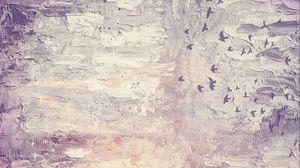 Preview wallpaper canvas, paint, bumps, birds, texture