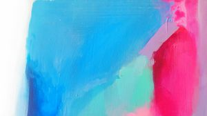 Preview wallpaper canvas, paint, strokes, colorful, modern art, abstraction