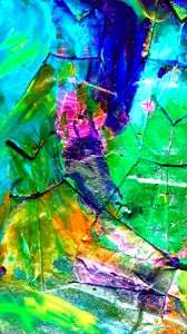 Preview wallpaper canvas, paint, strokes, spots, colorful, abstraction