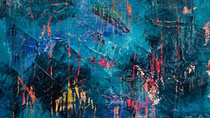 Preview wallpaper canvas, picture, abstraction, modern, colorful, paint