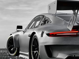 320x240 Wallpaper car, grey, tuning, carbon, black and white