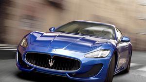 Preview wallpaper car, racing, maserati