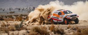 Preview wallpaper car, rally, race, desert, sand, drift