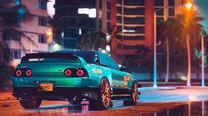 Preview wallpaper car, tuning, sportscar, street, city
