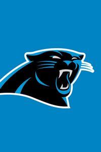 Preview wallpaper carolina panthers, american football, logo