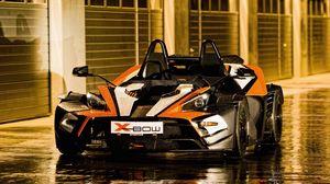 Preview wallpaper cars, drops, puddles, supercar