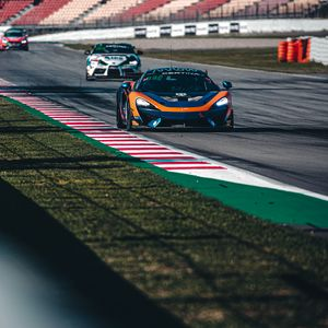 Preview wallpaper cars, race, track, motorsport, sports