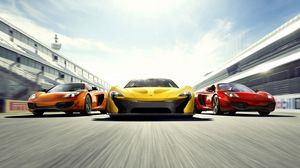 Preview wallpaper cars, three, style, sports