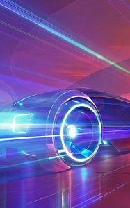 Preview wallpaper cars, traffic, night, light