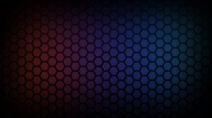 Preview wallpaper cell, light, hexagon, shadow