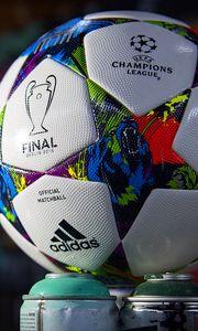 Preview wallpaper champions league, 2015, barcelona, juventus, ball, football