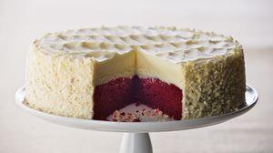 Preview wallpaper cheesecake, sweet, dessert, cut, pie, layers