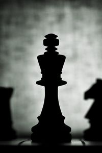 Preview wallpaper chess, figures, dark, game, king