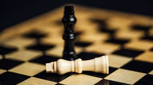 Preview wallpaper chess, figures, game, move
