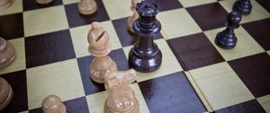 Preview wallpaper chess, game, board, pieces
