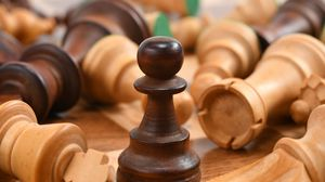 Preview wallpaper chess, pieces, game