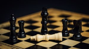 Preview wallpaper chess, pieces, game, games, party