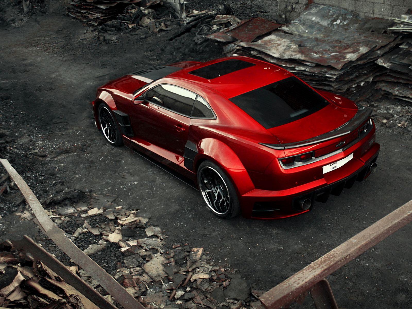 1600x1200 Wallpaper chevrolet camaro, chevy camaro, carbon, red, top view