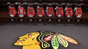 Preview wallpaper chicago blackhawks, hockey club, america, hockey