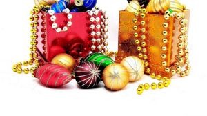 Preview wallpaper christmas decorations, diversity, jewelry boxes