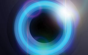 Preview wallpaper circle, background, colorful, lines