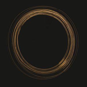 Preview wallpaper circle, glow, dark