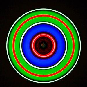 Preview wallpaper circle, glow, neon, colorful