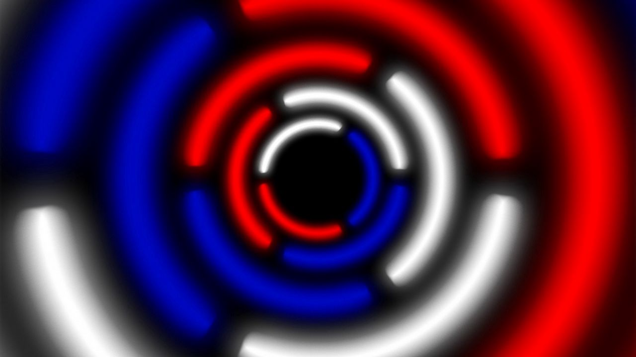 Wallpaper circle, russian, white, blue, red